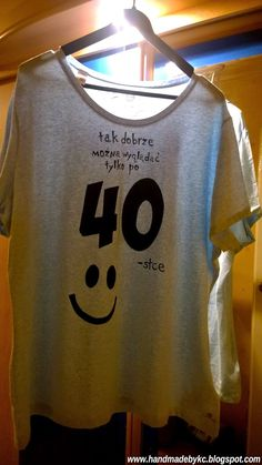 hand painted t-shirt for birthday #handmade #gift #giftidea #tshirt