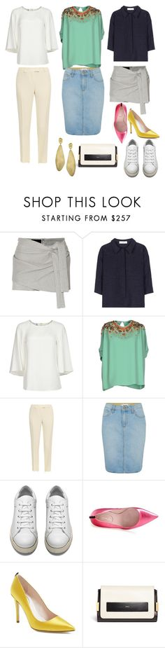 """""""Untitled #98"""" by joanne1126 ❤ liked on Polyvore featuring Jay Ahr, Valentino, Oscar de la Renta, Miu Miu, Christopher Kane, Paige Denim, Acne Studios, SJP, Chloé and Marco Bicego"""