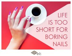 Life is too short for boring nails! Mood Colors, Nail Colors, Colours, Bio Sculpture Gel, Nail Art Techniques, Life Is Short, Nails, Finger Nails, Ongles