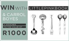 #Win a R1000 @CarrolBoyesSA Voucher! Enter on the blog! #LPBWin