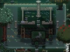 IndieGames.com - The Weblog Screenshot Daily: Sierra, Sword & Sworcery art styles in adventure RPG Druids of Gemini