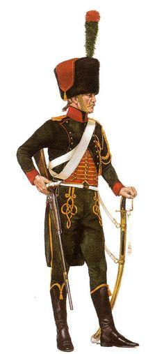 Cacciatore del rgt. cacciatori a cavallo della guardia imperiale
