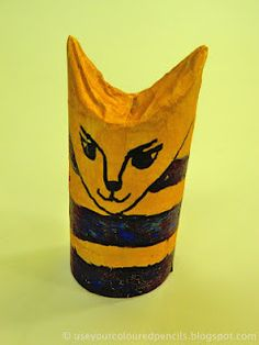 Ancient Egypt toilet roll craft. I didn't make this, but its a fun looking craft.