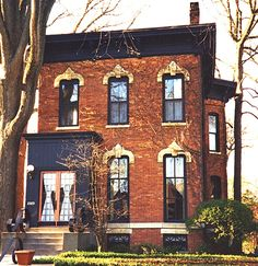 Gothis revival architecture characteristics gothic Victorian house front
