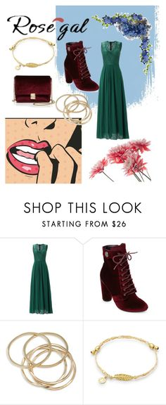 """""""Rose gal"""" by lottie-gayne ❤ liked on Polyvore featuring Catherine Catherine Malandrino, ABS by Allen Schwartz and KC Jagger"""
