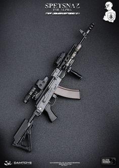 DAMTOYS Spetsnaz FSB Alpha Group - 0022