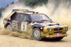Lancia Delta S4 rally car - Tabaton