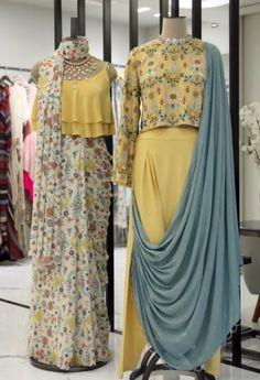 Dress Outfits, Fashion Dresses, Dress Up, Western Dresses, Indian Dresses, Pink Lehenga, Saree Dress, India Fashion, Saree Blouse Designs