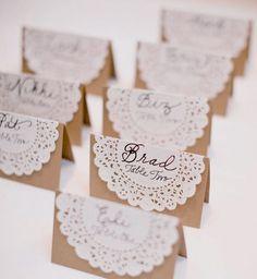 placeringskort brollop ide pyssel papperspyssel inspiration tips