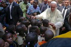 In Africa, Pope Francis Makes His First Visit to a War Zone - The New York Times