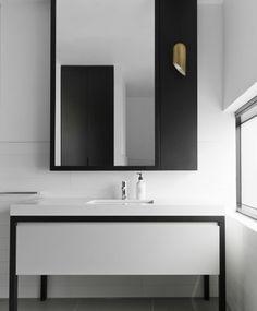 b+w minimal vanity