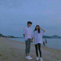 Chang hyung y yo Cute Couples Photos, Cute Couples Goals, Couple Pictures, Couple Goals, Mode Ulzzang, Ulzzang Korean Girl, Ulzzang Couple, Korean Couple, Best Couple