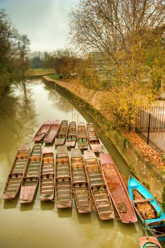 Mike Boats on river Cherwell, Oxford  Photomatix HDR, Topaz Painting-Venice