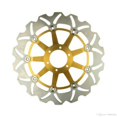 Cheap Front Brake Disc Rotor HONDA VFR R RVF 400 CBR F 600 VFR F 750 CBR RR 900 VTR F 1000 CBR 400 GOLD Online with $189.0  DHgate