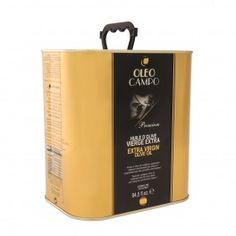Oleocampo Premium lata 2,5 l. www.olivadelsur.com