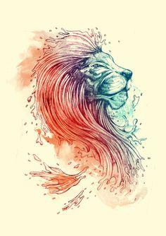 Amazing Lion design