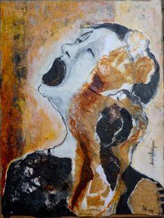 'Huidhonger' 2, Ine van den Heuvel, mixed media
