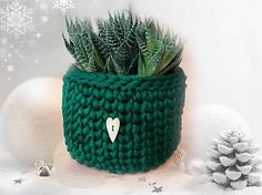 REJAdekor / Kvetináč obal zelený