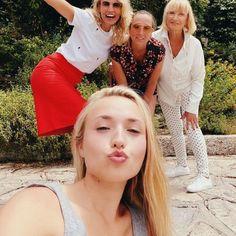 Alexandra et Audrey Lamy : Joyeuse fête des Mères avec Chloé Jouannet
