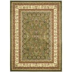 Safavieh Lyndhurst Collection Sage/Ivory Oriental Rug (9' x 12') - Overstock™ Shopping - Great Deals on Safavieh 7x9 - 10x14 Rugs