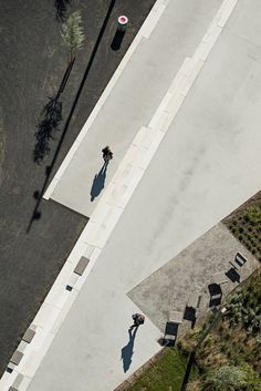 Promenade and landscaping for Aalborg waterfront by CF Møller | Public Space | Concrete Floor |