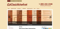 New website for A Classic Kitchen Front