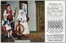51575963 - Grossschirma Tracht Schlesien Spinnrad  Preissenkung