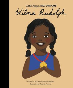 (nur auf Englisch derzeit) In this book from the critically acclaimed, multimillion-copy bestselling Little People, BIG DREAMS series, discover the life of Wilma Rudolph, the remarkable sprinter and Olympic champion. Wilma was born into a family with 22 brothers and sisters, in the segregated South. She contracted polio in her early years and her doctors said she would never walk again. But Wilma persisted with treatment, and she recovered her strength by the age of 12. Wilma Rudolph, Learning Cards, Fun Learning, Lincoln, Isabel Sanchez, Dream Book, Matching Games, World Records, Little People