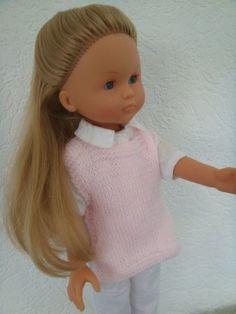 """inspirée d'un ancien """"Modes et travaux"""" La série rose est terminée.. J'ai eu beaucoup de plaisir à tricoter cette laine.. Je l'ai donc achetée dans d'autres coloris..il n'y a que des couleurs layette !! mais elle est moins moelleuse.. Les explications......"""