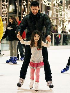 Tom Cruise and suri   daddy's gurl