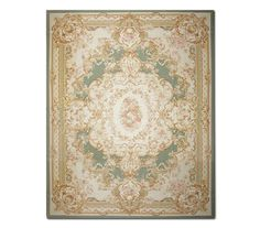STUNNING HANDMADE FRENCH NEEDLEPOINT RUG - AUBUSSON TAPESTRY 11'x16' #Aubusson #TraditionalEuropean