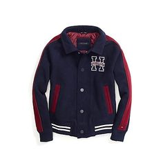 Boys 4-7 Chaps Faux-Leather Bomber Jacket | kids | Pinterest