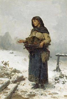 German School ~The Beggar Maid~ Century, High Reolution Van Gogh, Giuseppe Garibaldi, Italian Painters, Portraits, He Is Able, Art Lessons, Art History, 19th Century, Illustration