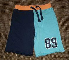 Baby Gap boys 4T blue aqua athletic shorts