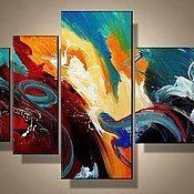 Картины и панно ручной работы. Ярмарка Мастеров - ручная работа Разноцветье. Handmade.