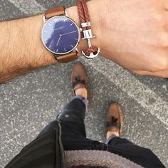 In ❤️ with this perfect combination by yeli_ufi! #getAnchored #paulhewitt #sailorline #brownleather #phreps