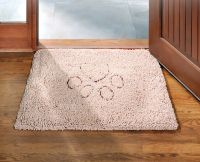 Dog Gone Smart large Dirty Dog Doormat. Designed to trap water and mud. Washable, with a non-skid backing.
