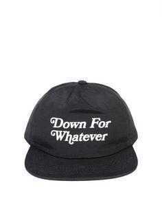 Down For Whatever 5 Panel Hat Sombrero De 5 Paneles f5697478c78