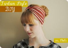 DIY Turban-Style Headband   Red Dirt Revival