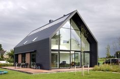 houses : Lofthome UK Ltd Residential Architecture, Architecture Design, Natur House, Alpine House, Modern Barn House, Steel Frame House, Loft House, Scandinavian Home, House In The Woods