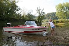 My 1st Real Boat A 16' Larson With A 70hp Merc. (facsimile) I Ended Up Having To Rebuild Photo:  This Photo was uploaded by MikDee. Find other My 1st Rea...