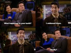 Ross Geller's teeth