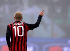 Jan 15, 2014. Coppa Italian. AC Milan 3-1 Spezia. Keisuke Honda / 本田ゴール