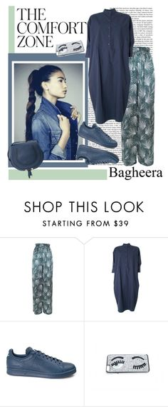 """Bagheera 7."" by carola-corana ❤ liked on Polyvore featuring Bagheera, Teija, adidas, Chiara Ferragni and bagheeraboutique"