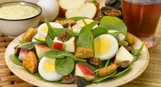 Spinach and Apple Egg Salad Fresh Fruit Recipe