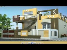 House Wall Design, House Outer Design, Village House Design, Kerala House Design, Bungalow House Design, House Design Photos, House Front Design, Modern Small House Design, Modern Exterior House Designs