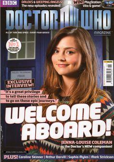 Doctor Who Magazine #446 (April 2012) - dwm446 1 - Jenna Coleman Online