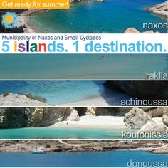 Summer on Naxos and the isles of the Small Cyclades: Iraklia, Schinoussa, Koufonissia and Donoussa! Five islands. One destination.