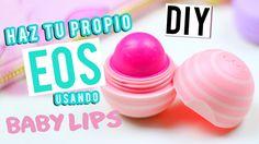 DIY | HAZ TU PROPIO EOS USANDO BABY LIPS
