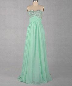 A-line Sweetheart Sleeveless Floor-length Chiffon Beaded Prom/Evening/Party/Homecoming/Bridesmaid/Cocktail/Formal Dress 2013 New Arrival. $79.00, via Etsy.